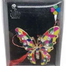 Martisor Brosa Multicolora V7 Fluture 6cm x 8cm