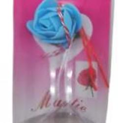 Martisor Motiv Floral Cutie Platic 4.5cm x 7.5cm