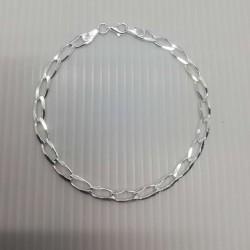 Bratara Argint 925 cu Zale Mari Ovale