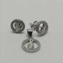 Set Argint 925 Cheia Sol