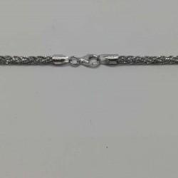 Colier Argint 925 Impletit Stralucitor