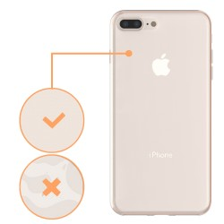 Husa Apple iPhone 7 Plus Full Tpu 360 V2 Transparent