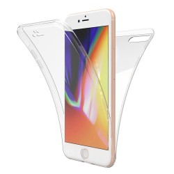 Husa Apple iPhone X Full Tpu 360 V2 Transparent