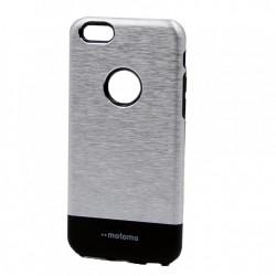 Husa Apple iPhone 6 Plus/6S Plus Motomo V4 Argintiu