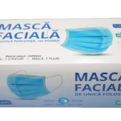 Masca faciala Flippy, 3 straturi si 3 pliuri - 1 bucata