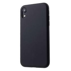 Husa Apple iPhone 11 Liquid Silicone Case Negru