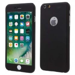 Husa Apple iPhone 11 Pro, Full Cover 360, Negru + Folie de protectie