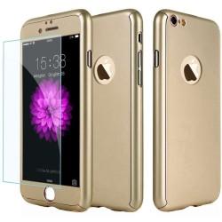 Husa Apple iPhone 11 Pro, Full Cover 360, Auriu + Folie de protectie