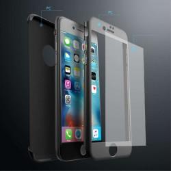 Husa Apple iPhone 11, Full Cover 360, Negru + Folie de protectie