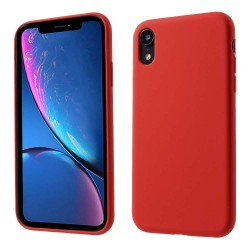 Husa Apple iPhone 11 Liquid Silicone Case Rosu