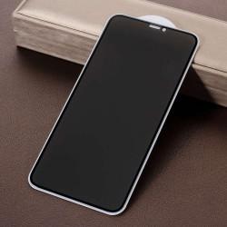 Folie Sticla Apple iPhone 11Pro Max Full Glue Privacy Negru