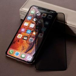 Folie Sticla Apple iPhone 11 Full Glue Privacy Negru