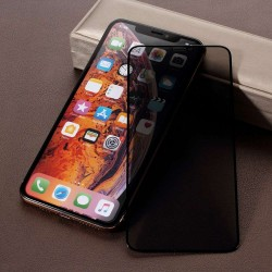 Folie Sticla Apple iPhone X/XS Full Glue Privacy Negru