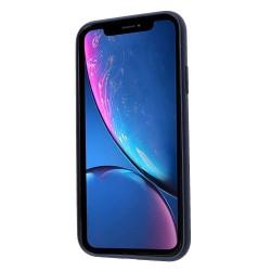 Husa Apple iPhone 11 Liquid Silicone Case Albastru Inchis