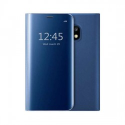 Husa Apple iPhone 7/8/SE 2020 Flip Cover Oglinda Albastru