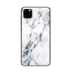Husa Apple iPhone 11 Marble Glass Model 2