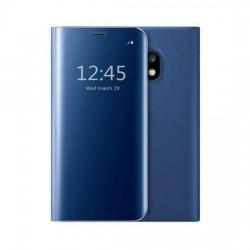 Husa Apple iPhone 11 Flip Cover Oglinda Albastru