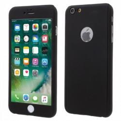 Husa Apple iPhone 5/5S/SE Full Cover 360 Negru + Folie de protectie